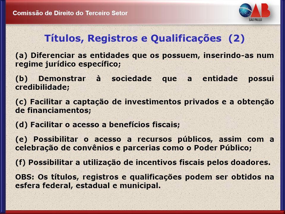 Títulos, Registros e Qualificações (2)