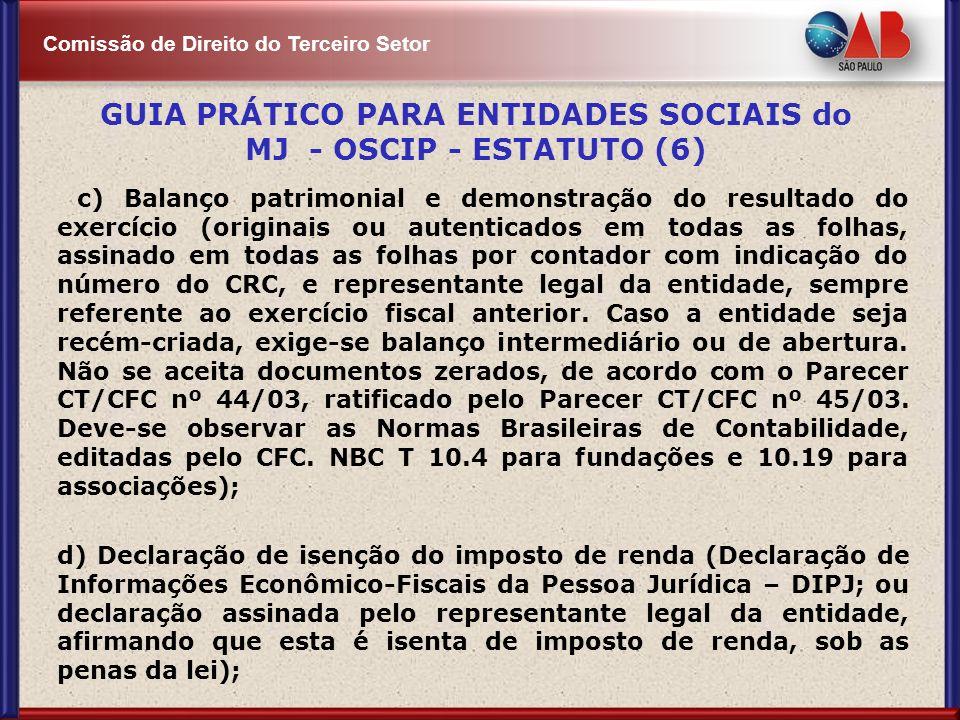 GUIA PRÁTICO PARA ENTIDADES SOCIAIS do MJ - OSCIP - ESTATUTO (6)