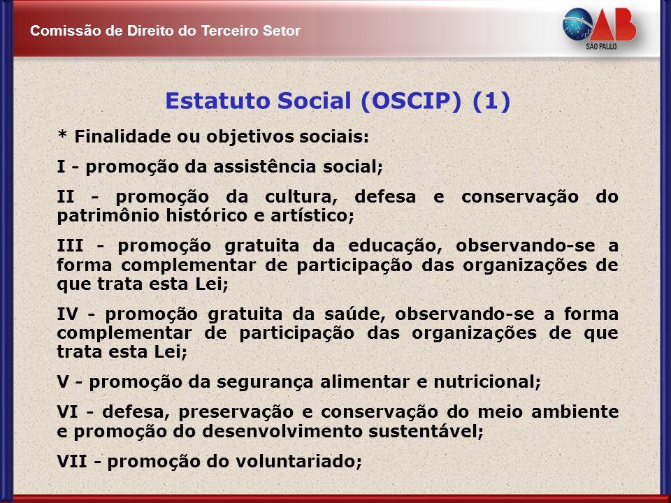Estatuto Social (OSCIP) (1)