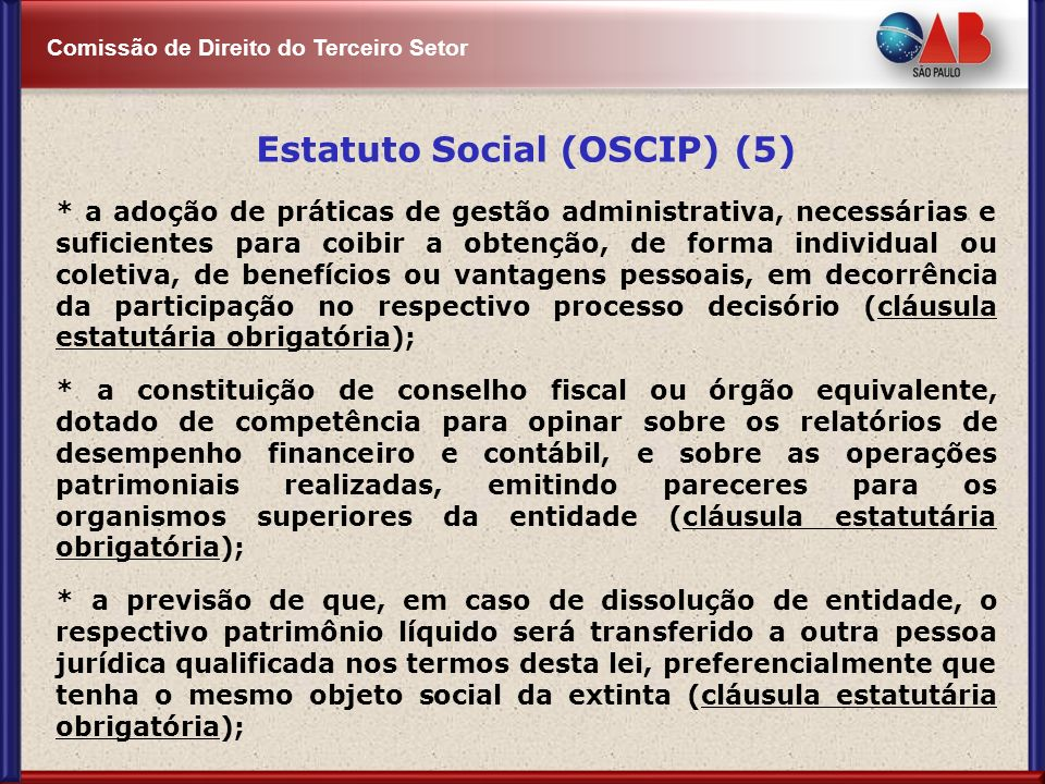 Estatuto Social (OSCIP) (5)