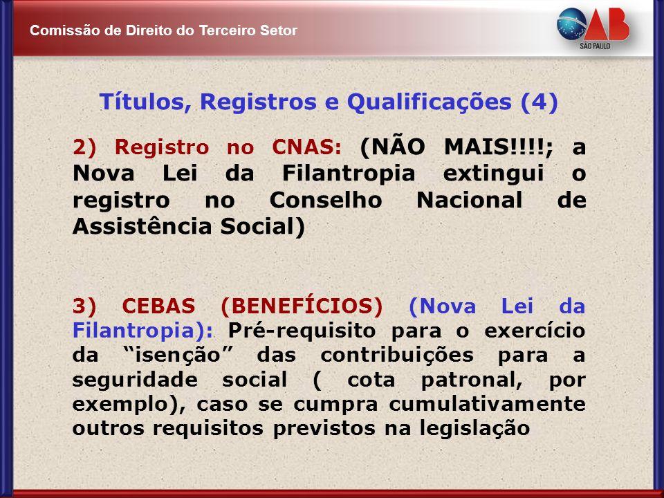 Títulos, Registros e Qualificações (4)