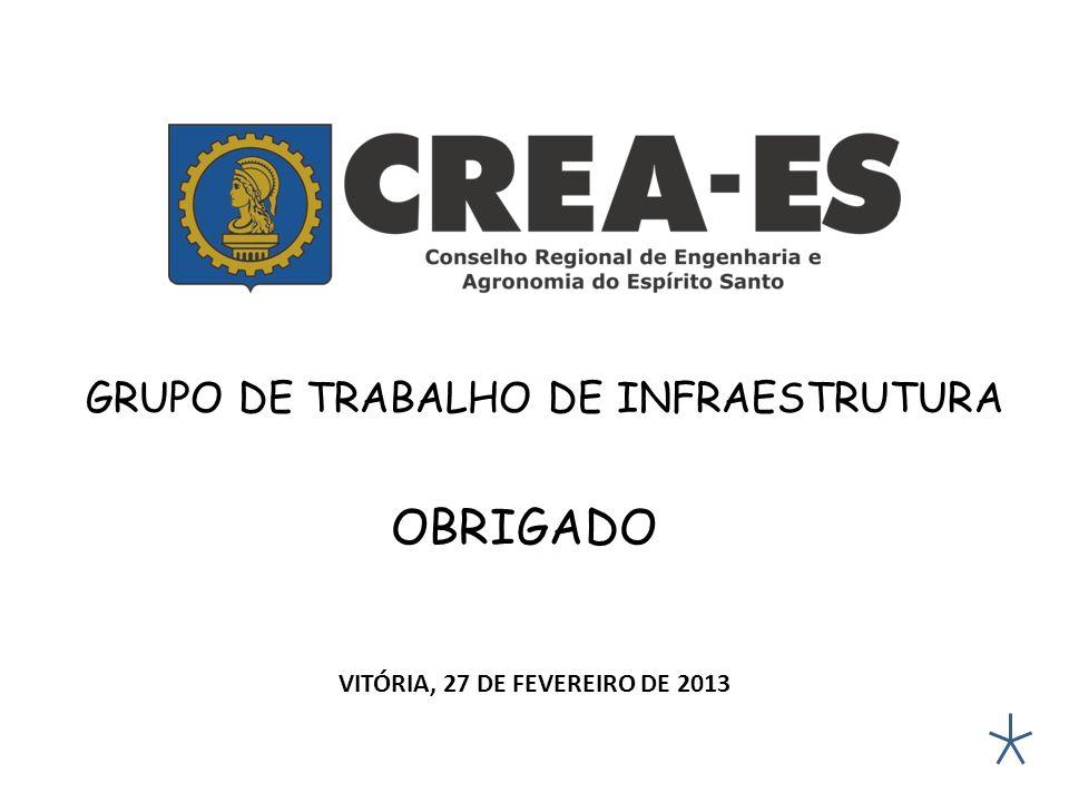 VITÓRIA, 27 DE FEVEREIRO DE 2013
