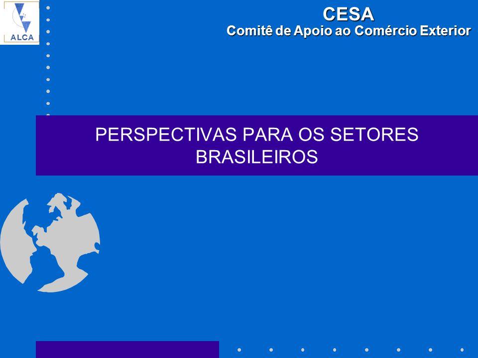 PERSPECTIVAS PARA OS SETORES BRASILEIROS