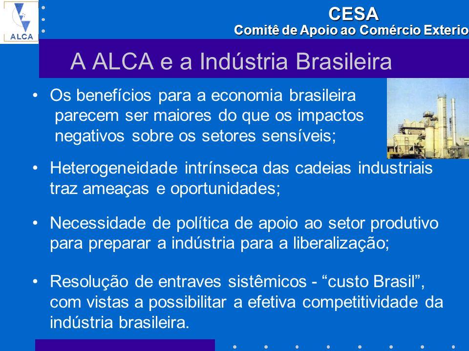 A ALCA e a Indústria Brasileira