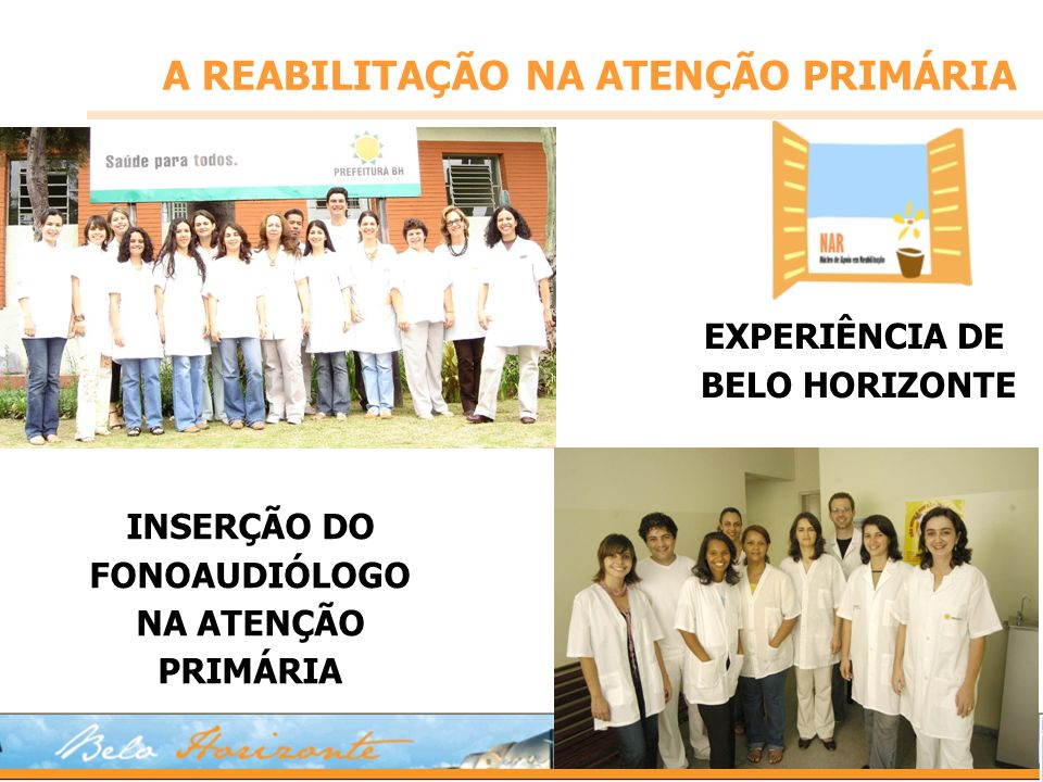 EXPERIÊNCIA DE BELO HORIZONTE
