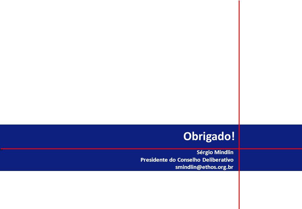 Obrigado! Sérgio Mindlin Presidente do Conselho Deliberativo
