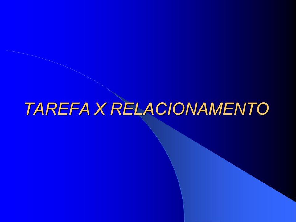 TAREFA X RELACIONAMENTO