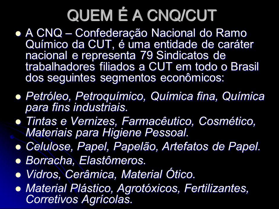 QUEM É A CNQ/CUT