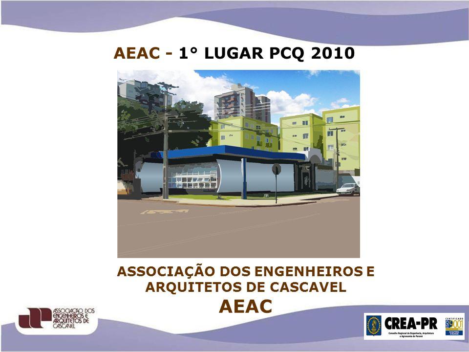 ASSOCIAÇÃO DOS ENGENHEIROS E ARQUITETOS DE CASCAVEL