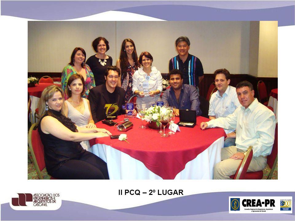II PCQ – 2º LUGAR