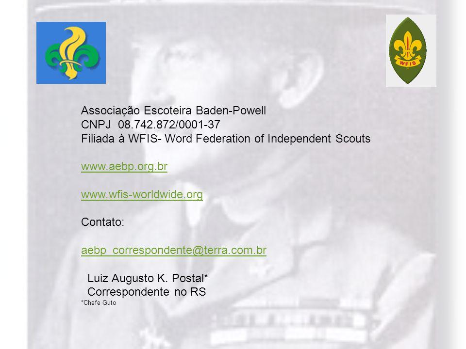 Associação Escoteira Baden-Powell CNPJ 08.742.872/0001-37