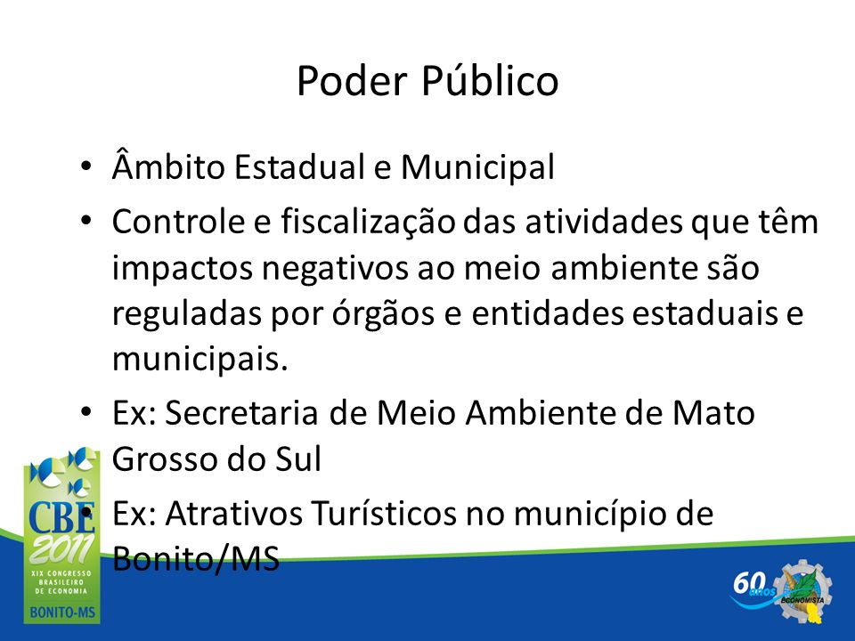Poder Público Âmbito Estadual e Municipal
