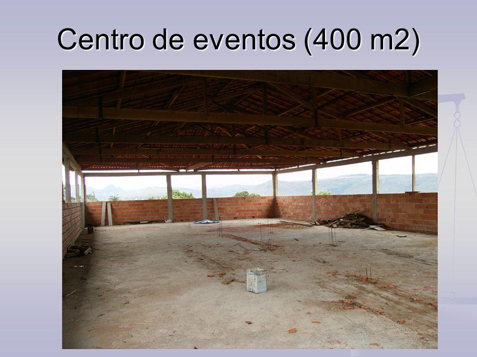 Centro de eventos (400 m2)