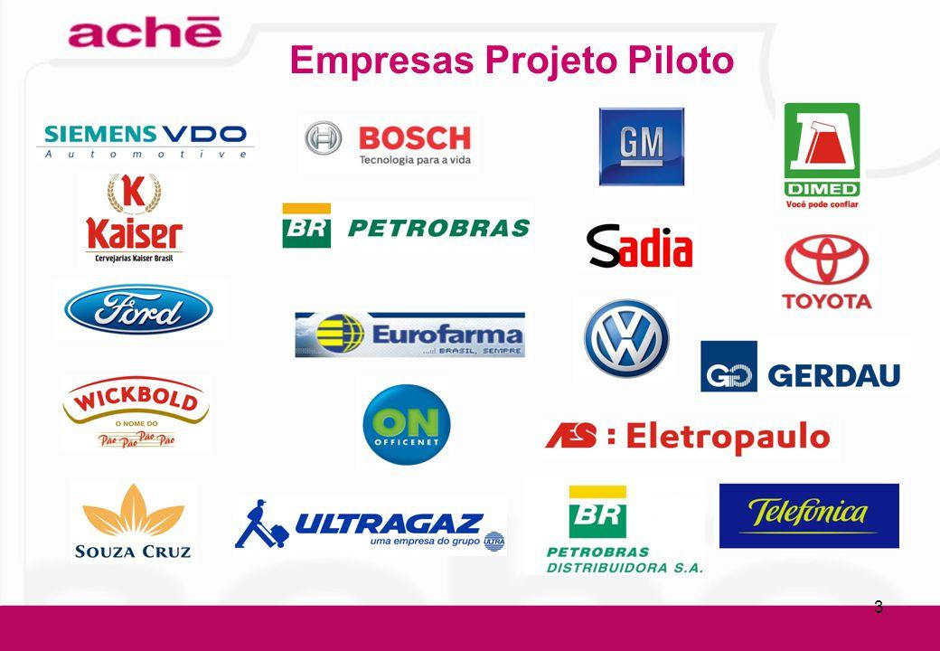Empresas Projeto Piloto