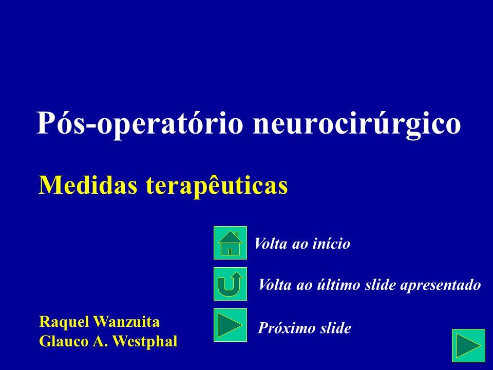 Pós-operatório neurocirúrgico
