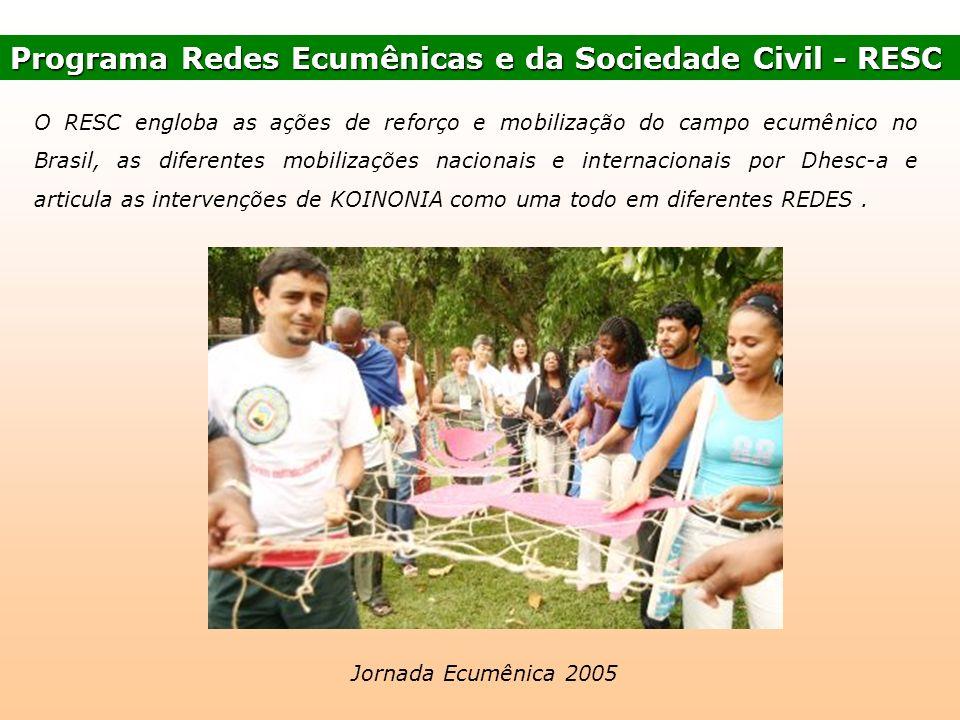Programa Redes Ecumênicas e da Sociedade Civil - RESC