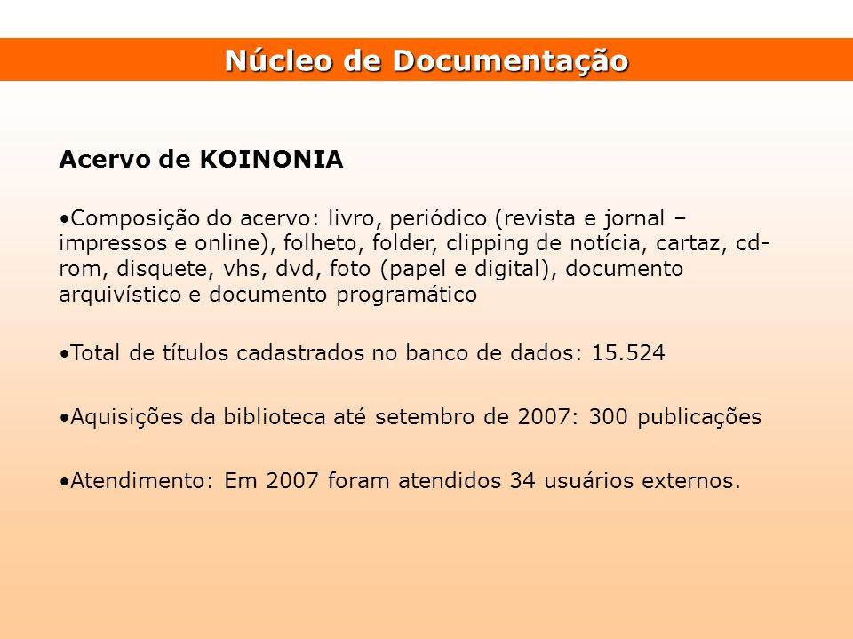 Núcleo de Documentação