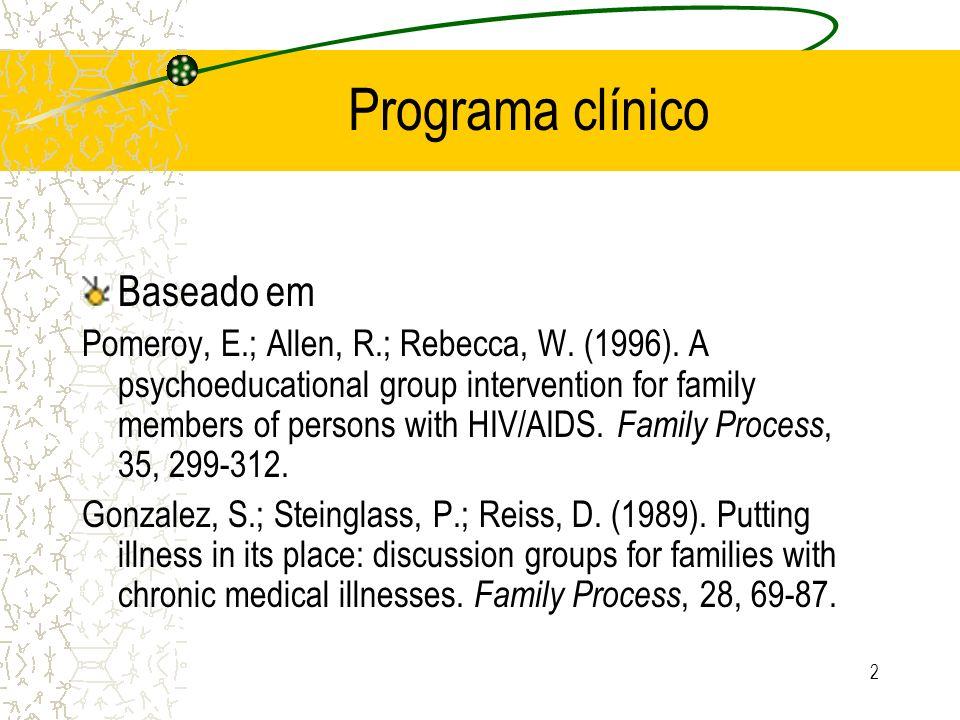 Programa clínico Baseado em