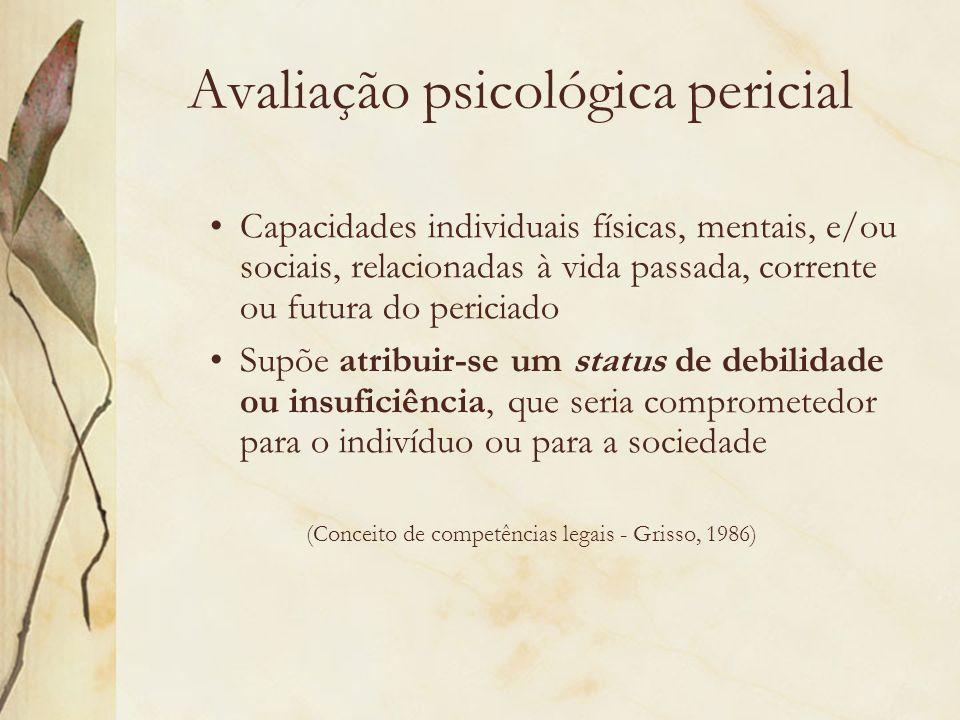 Avaliação psicológica pericial