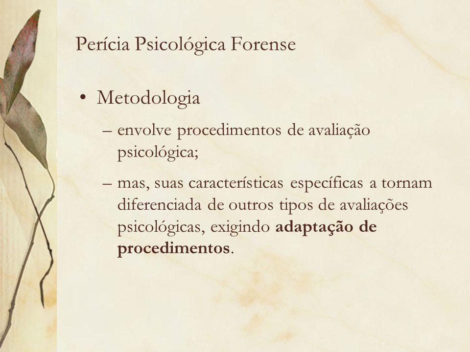 Perícia Psicológica Forense