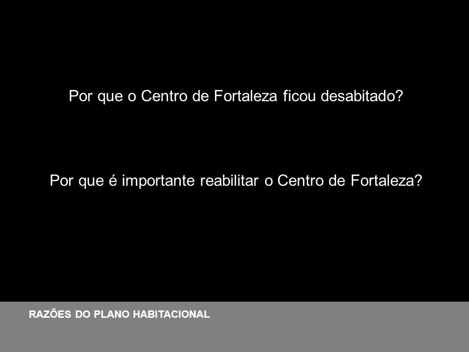 Por que o Centro de Fortaleza ficou desabitado