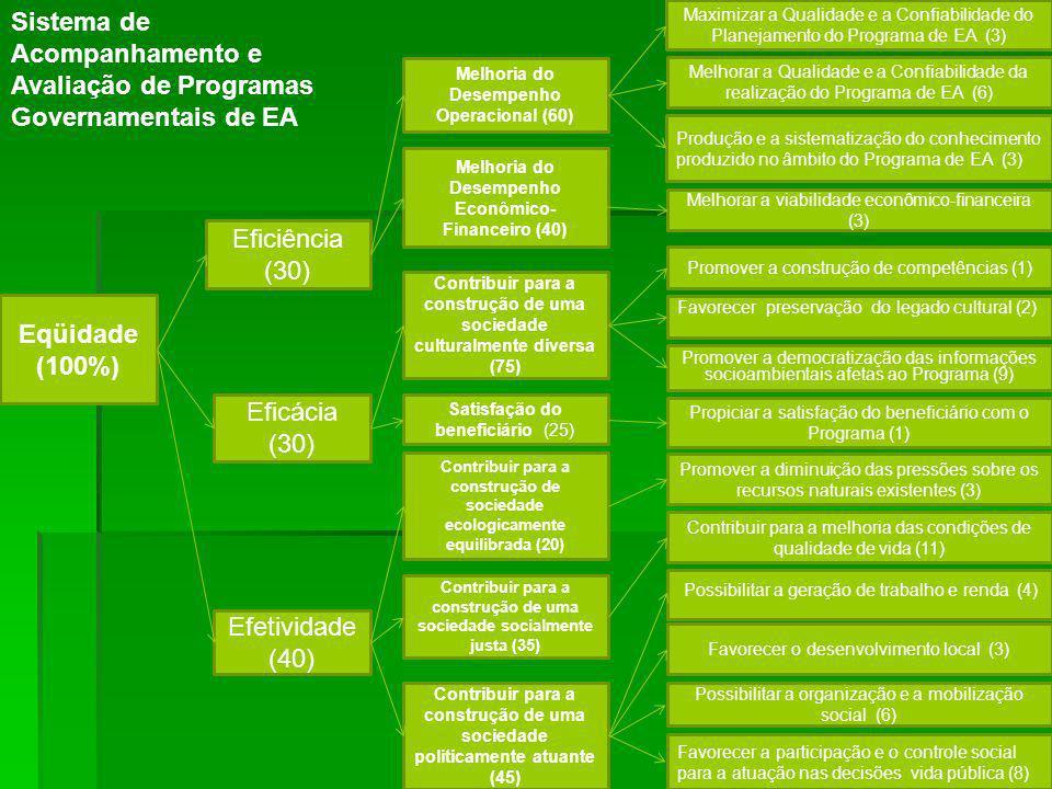 Sistema de Acompanhamento e Avaliação de Programas Governamentais de EA