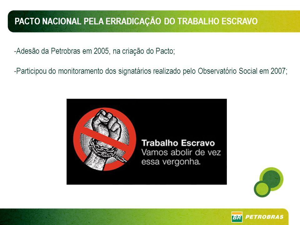 PACTO NACIONAL PELA ERRADICAÇÃO DO TRABALHO ESCRAVO