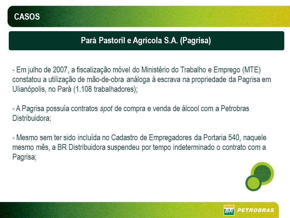 Pará Pastoril e Agrícola S.A. (Pagrisa)