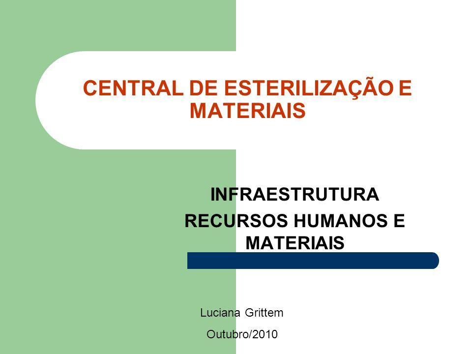 CENTRAL DE ESTERILIZAÇÃO E MATERIAIS