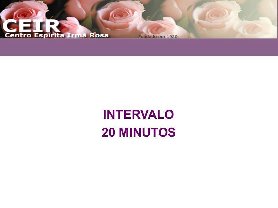 INTERVALO 20 MINUTOS