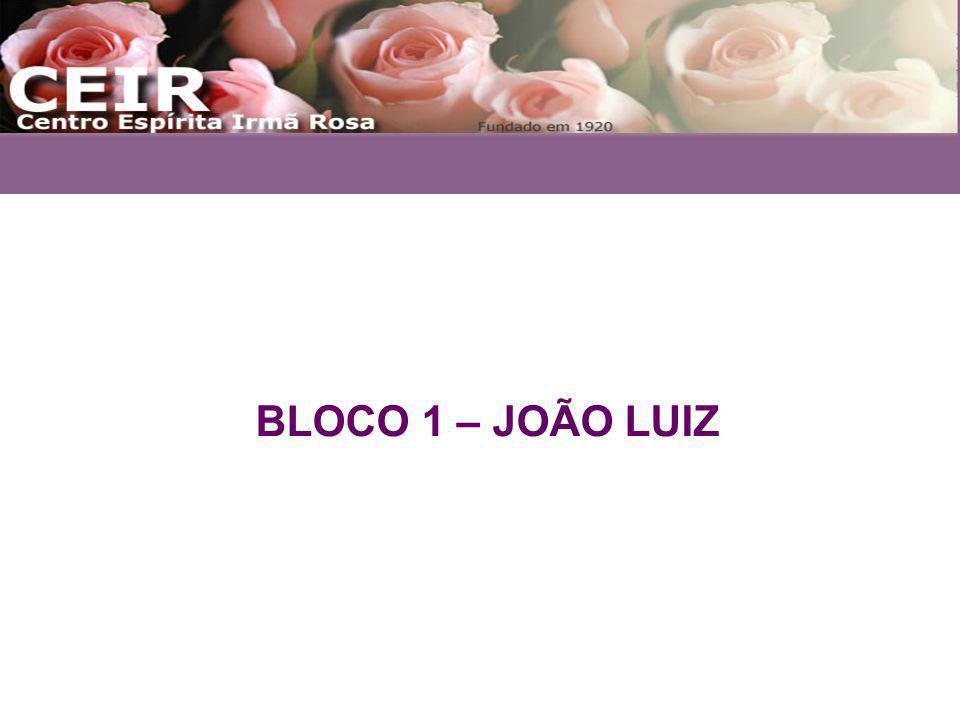 BLOCO 1 – JOÃO LUIZ