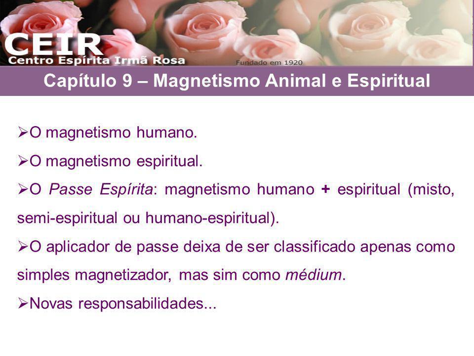 Capítulo 9 – Magnetismo Animal e Espiritual