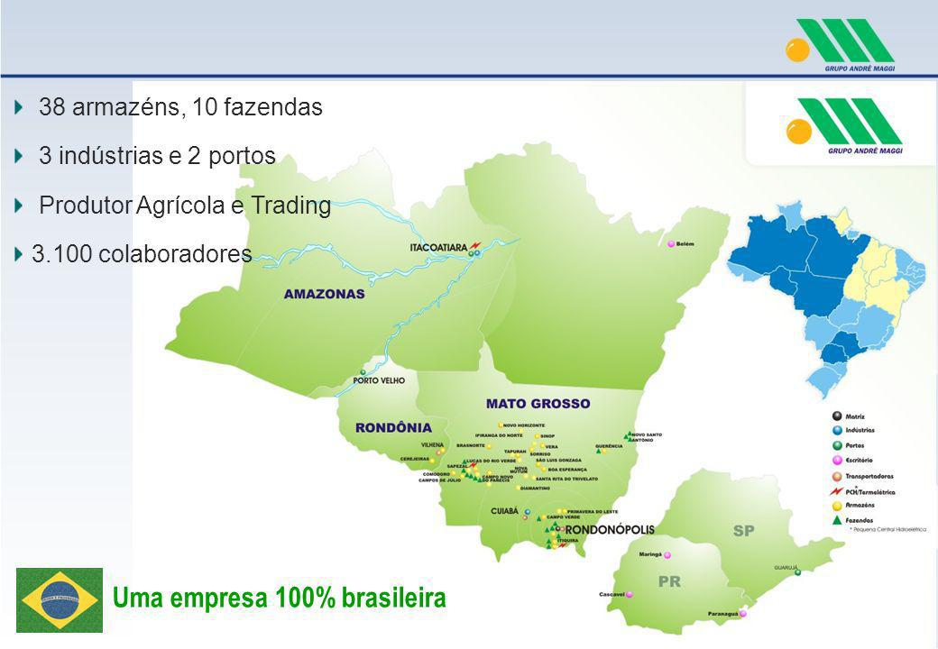 Uma empresa 100% brasileira