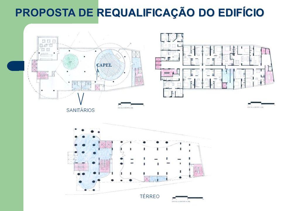 PROPOSTA DE REQUALIFICAÇÃO DO EDIFÍCIO