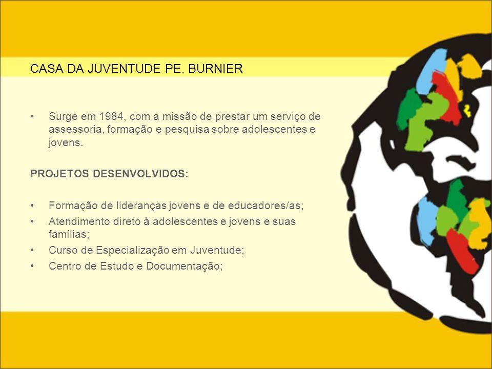 CASA DA JUVENTUDE PE. BURNIER