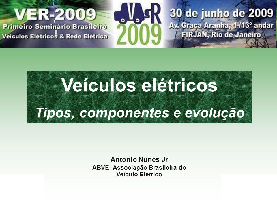 Veículos elétricos Tipos, componentes e evolução Antonio Nunes Jr