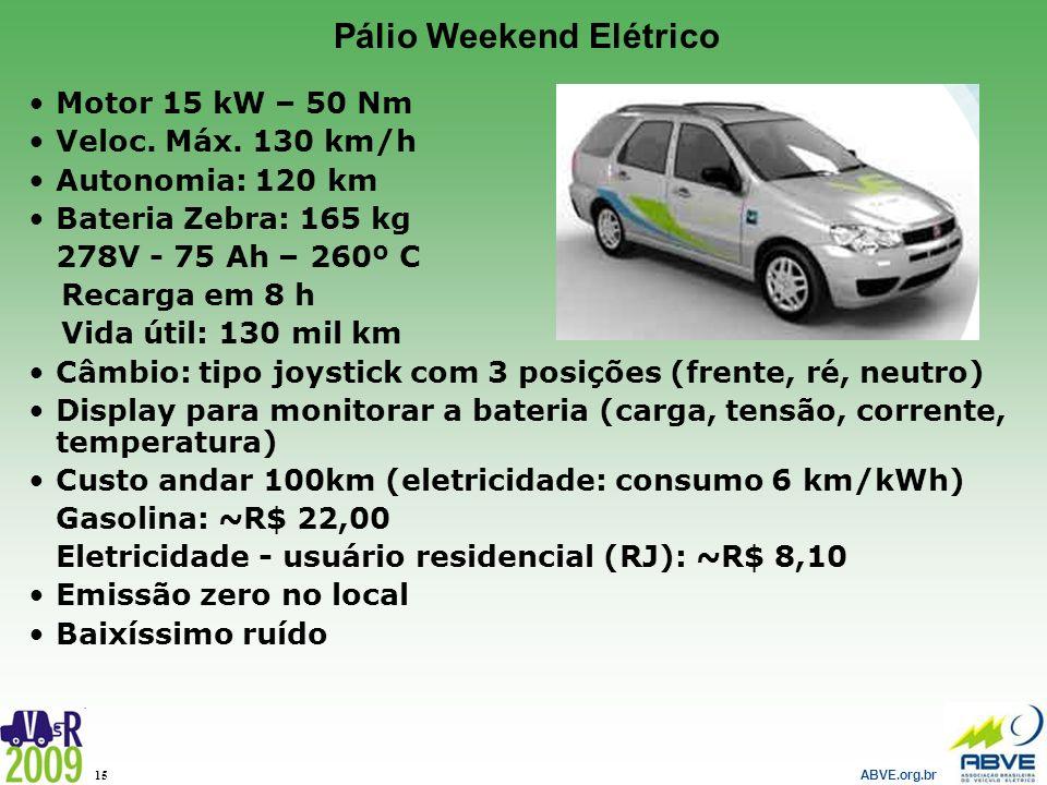 Pálio Weekend Elétrico