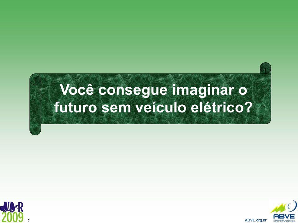Você consegue imaginar o futuro sem veículo elétrico