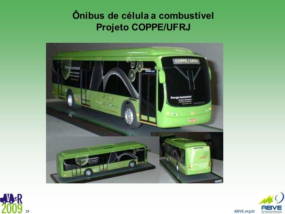Ônibus de célula a combustível Projeto COPPE/UFRJ