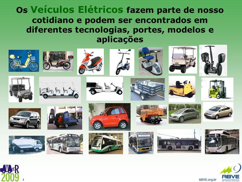 Os Veículos Elétricos fazem parte de nosso cotidiano e podem ser encontrados em diferentes tecnologias, portes, modelos e aplicações