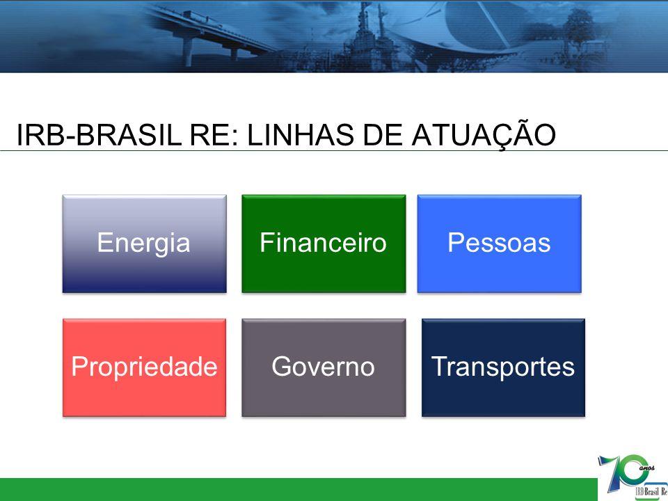 IRB-BRASIL RE: LINHAS DE ATUAÇÃO