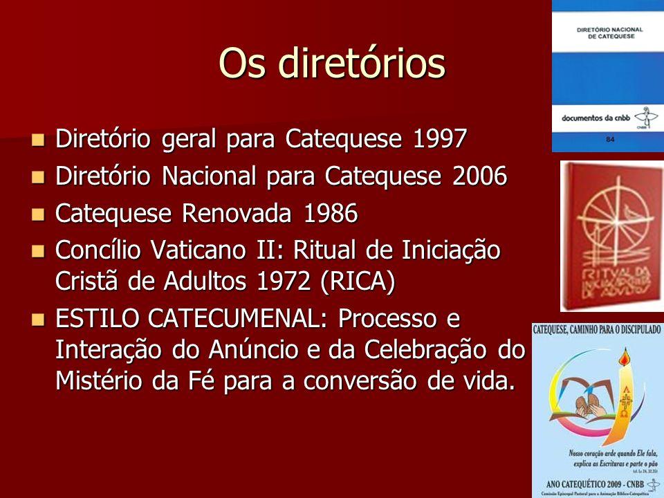 Os diretórios Diretório geral para Catequese 1997