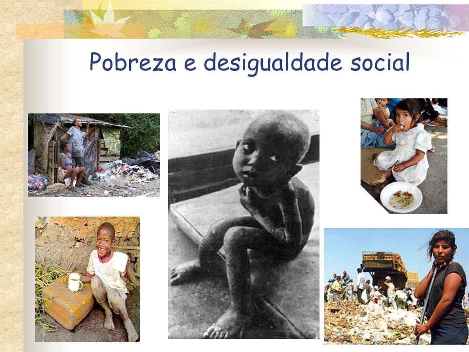 Pobreza e desigualdade social