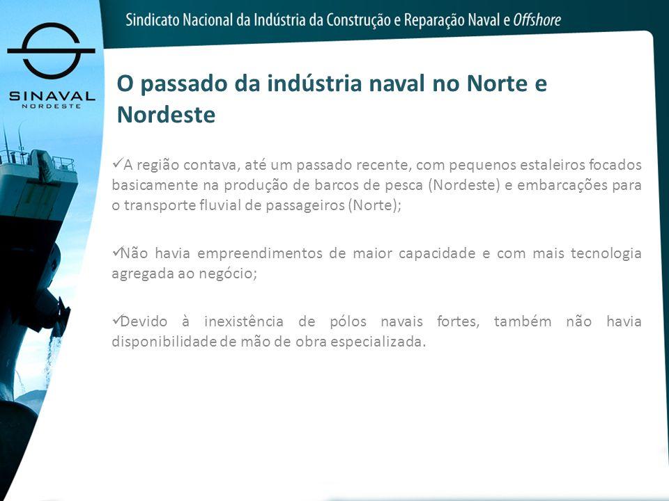 O passado da indústria naval no Norte e Nordeste