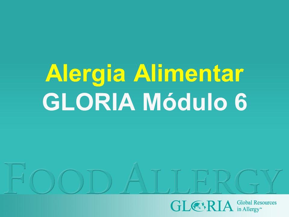 Alergia Alimentar GLORIA Módulo 6