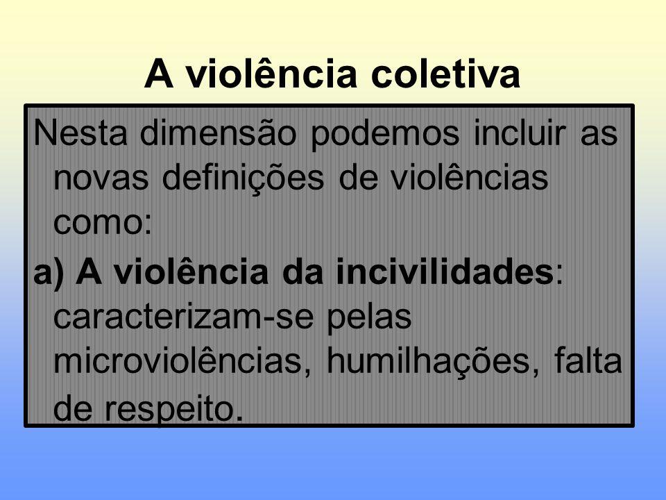 A violência coletiva