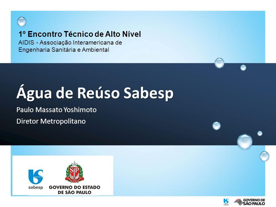 Água de Reúso Sabesp 1º Encontro Técnico de Alto Nível