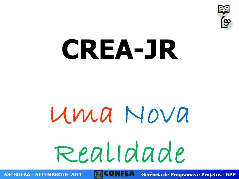 CREA-JR Uma Nova RealIdade