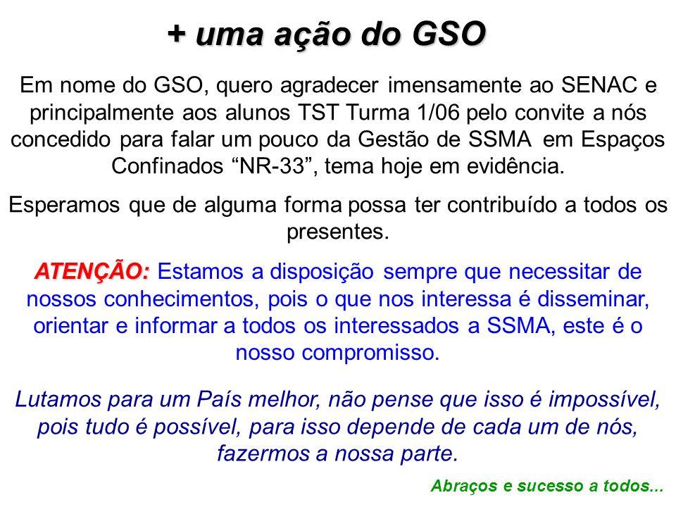 + uma ação do GSO