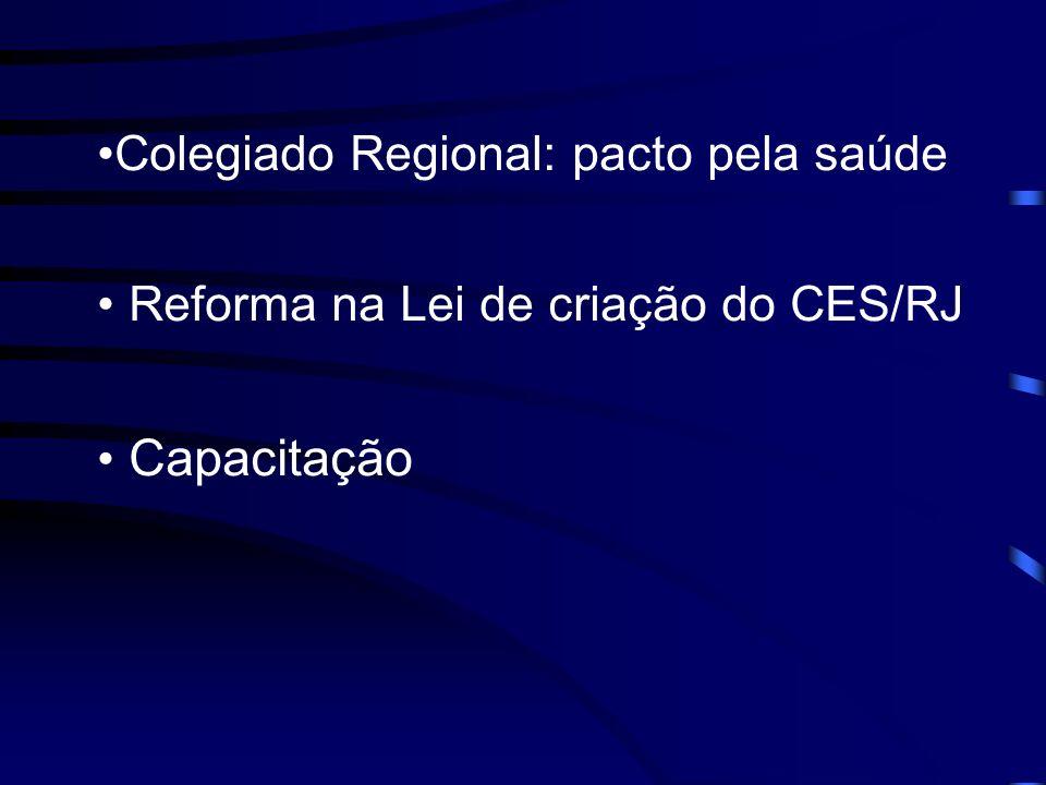 Colegiado Regional: pacto pela saúde
